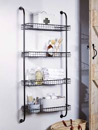 wall shelves bathroom great bathroom storage ideas real homes