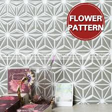 2017 new kitchen wall tile design flower pattern triangle mosaic