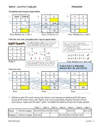ratio tables worksheets with answers puzzles thinking word problems by math crush