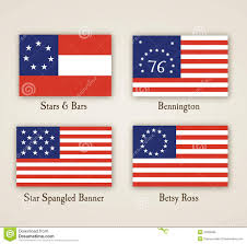 Betsy Ross Flags Early American Flags Stock Vector Illustration Of American 20309686