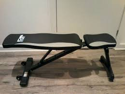 mirafit folding bench in poole dorset gumtree