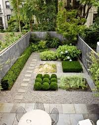 Backyard Stepping Stones by Contemporary Landscape And Yard With Shrubs By Lukas Machnik