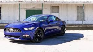 2016 ford mustang 2016 ford mustang ecoboost review youtube
