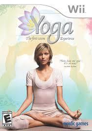 amazon com yoga nintendo wii video games