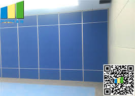 soundproof operable fabric movable partition walls room divider