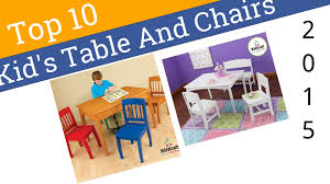 10 best kid u0027s table and chairs 2015 youtube
