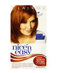 clairol nice n easy natural light auburn parle and hickey clairol nice n easy permanent 6r formerly 110