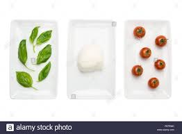 Flag That Is Green White And Red Italian Food Like Green White Red Italian Flag Basil Mozzarella