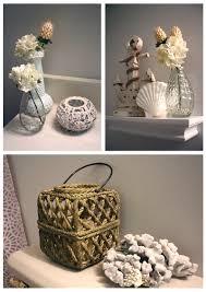 seashell bathroom decor ideas house made of paper bathroom makeover that lovely life