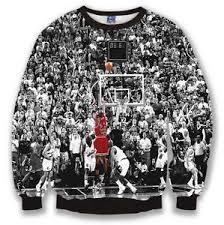 3d sweater michael mj jordans last 3d print slim sweater sz xs l