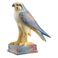 God Statue Horus Egyptian Falcon God Statue Wu75318 Design Toscano