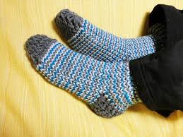 how to loom knit socks diy tutorial youtube