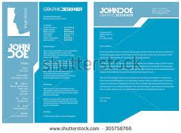 resume cv template stock vector 113704369 shutterstock