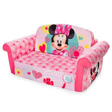Doc Mcstuffins Sofa Minnie Mouse Marshmallow 2 In 1 Flip Open Kids Sofa Target