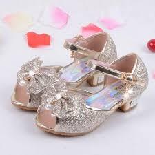 wedding shoes for girl children princess sandals kids wedding shoes high heels