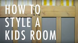 How To Design A Bedroom How To Design A Kids Bedroom By Sophie Robinson Youtube