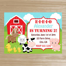 barnyard invitation farm printable by cakesandkidsdesigns on etsy