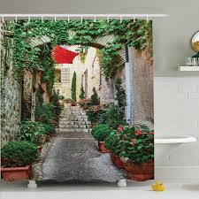 Chemistry Shower Curtains Society6 Endearing Rustic Shower Curtains And Ambesonne Rustic Old Street