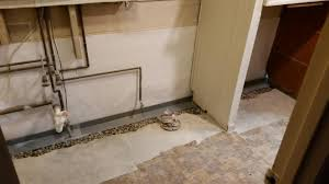 Basement Dewatering System by Foundation Repair Wet Basement Waterproofing Concrete Leveling