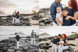Oahu Photographers O Family Sunrise Session At Makapu U0027u Tidepools Kailua