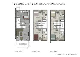 4 bedroom townhome the cottages of tempe
