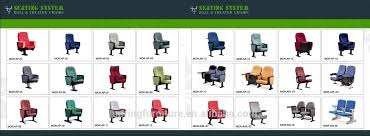 Theater Chairs For Sale Folding Stadium Chair Fabric Auditorium Chair For Conference