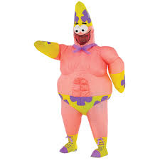 spongebob movie inflatable patrick star costume for kids