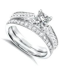 white gold wedding ring sets wedding ring set cheap blushingblonde
