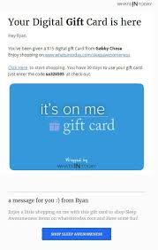 send gift cards send free gift card whatsintoday