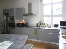 photo cuisine grise et cuisine blanche credence grise top design credence pour cuisine