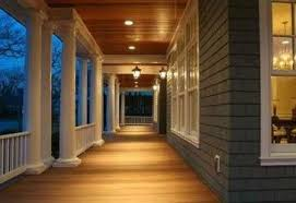 recessed outdoor canned lighting recessed porch lighting design