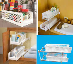 Bathroom Basket Drawers Portable 2 Tier Basket Drawers Kicthen And Bathroom Storage