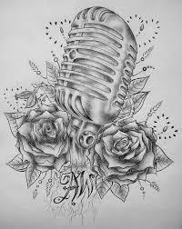 Guitar Tattoo Designs Ideas Best 25 Mic Tattoo Ideas On Pinterest Microphone Tattoo Piano