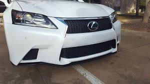 lexus gs f for sale front lip fits 13 15 lexus gs350 f sport bumper only clublexus