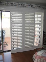patio doors sliding plantation shutters for patio doors gallery