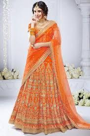 purple and orange wedding dress turquoise purple orange bridal lehenga choli
