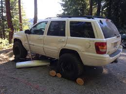 jeep station wagon lifted lift kit in progress the truth about cars