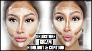 drugstore cream contour u0026 highlight