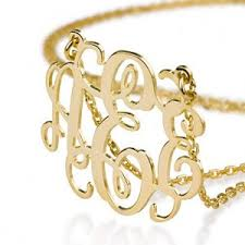 Sterling Silver Monogram Bracelet Name Necklaces For An Affordable Price