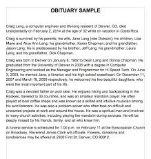 funeral program wording obituary wording ideas obituary program sle obituary template