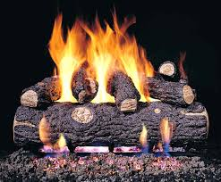comely modern gas fireplace logs design ideas with breathtaking