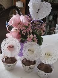 devoted2doilies tea party perfect cupcakes and center pieces