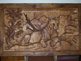 wall ideas design animal carved wall wooden