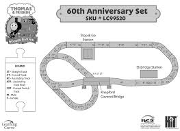 thomas the tank track layouts designs at legacy station