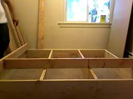 Building Platform Bed Building Platform Bed Frame Part 3 Of 10 Youtube