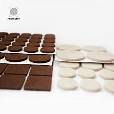 Sofa Felt Pads by X Protector Premium Two Colors Pack Furniture Pads 133 Piece Felt