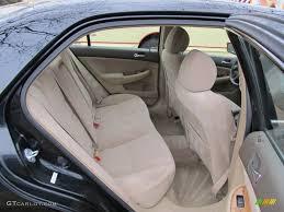 Honda Accord 2003 Interior Ivory Interior 2003 Honda Accord Ex Sedan Photo 61850892