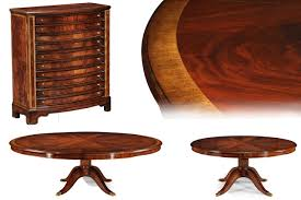 Large Dining Tables Rustic Etra Large Solid Walnut Round Dining Table Seats To