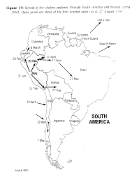 Latin America Physical Map The World Environment 1972 1992 Two Decades Of Challenge