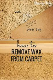 how to get wax out of a candle stop procrastinating and easily remove candle wax from your carpet